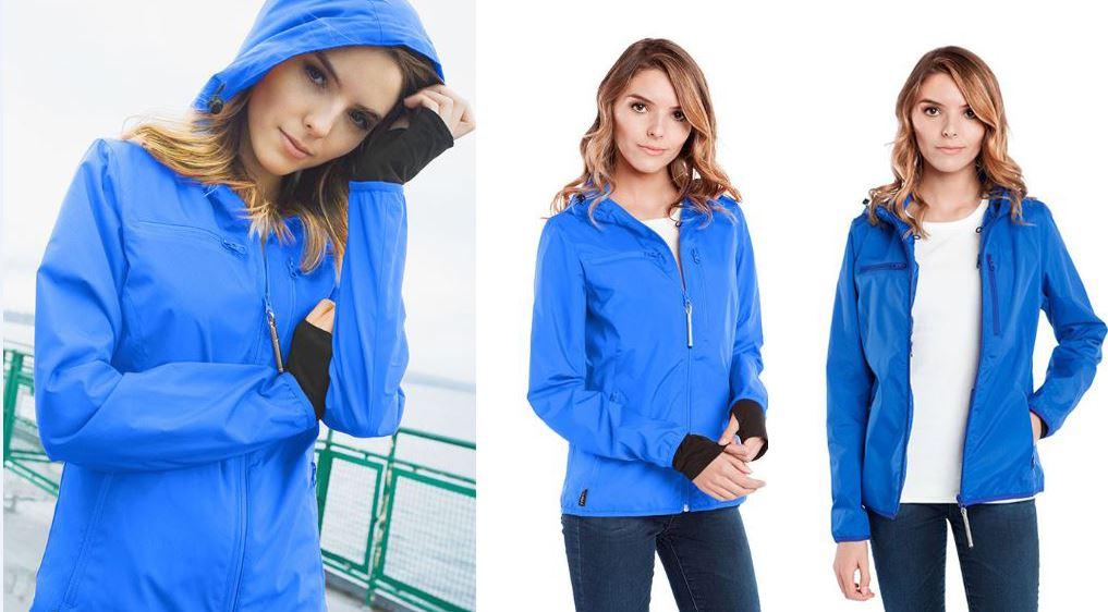 Resize - 美國 BAUBAX 多功能防風型外套 Female - Blue