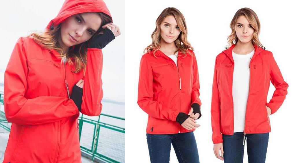 Resize - 美國 BAUBAX 多功能防風型外套 Female - Red