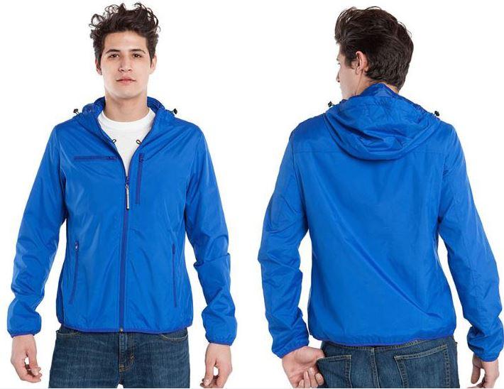 Resize - 美國 BAUBAX 多功能防風型外套 Male - Blue