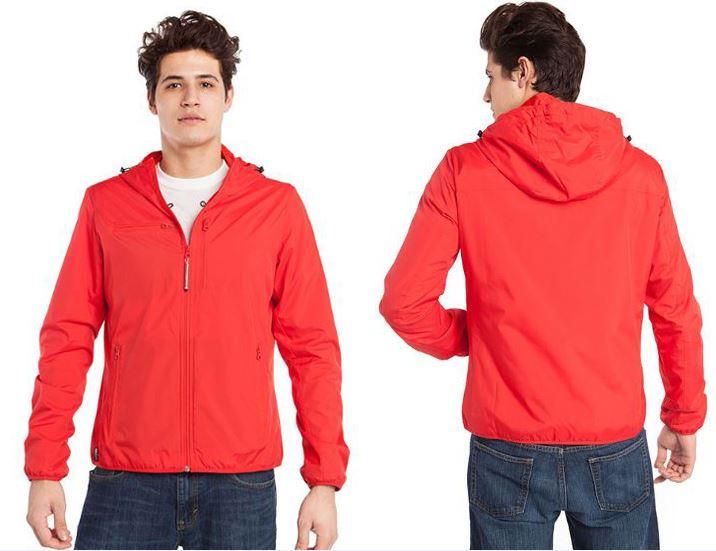 Resize - 美國 BAUBAX 多功能防風型外套 Male - Red