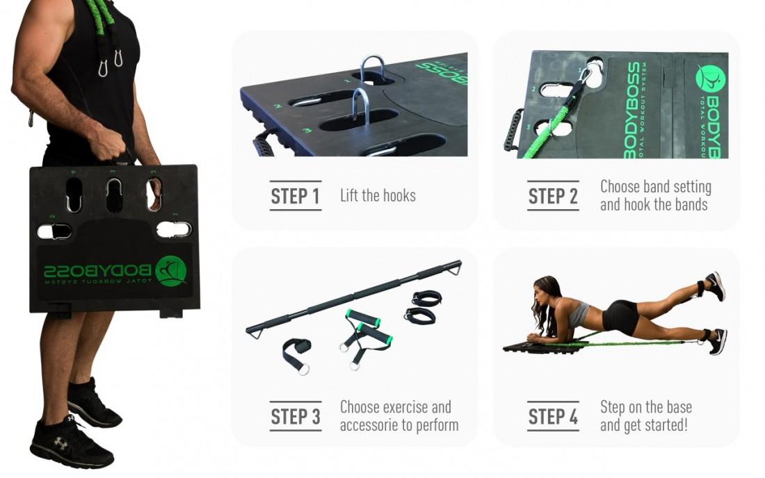 美國 Body Boss 2.0 可攜式健身房 Searching C_5