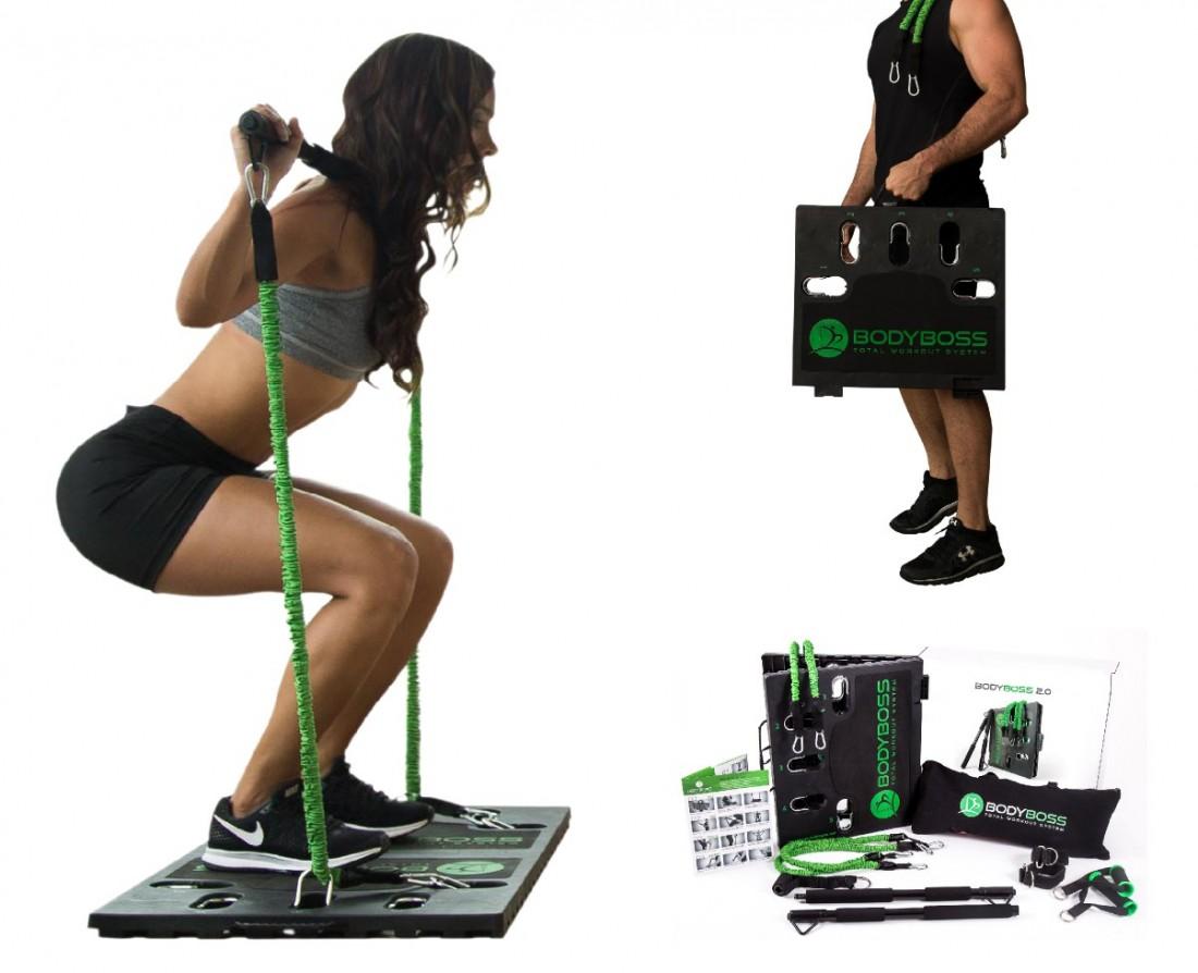 美國 Body Boss 2.0 可攜式健身房SC1