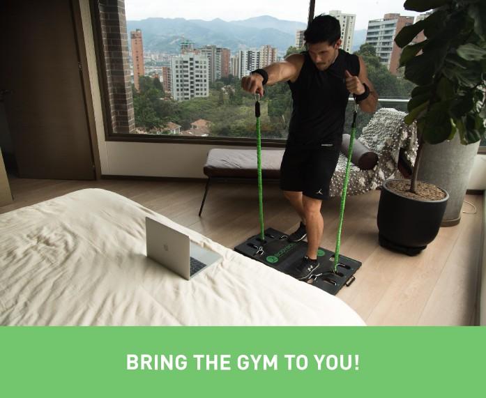 美國 Body Boss 2.0 可攜式健身房SC2