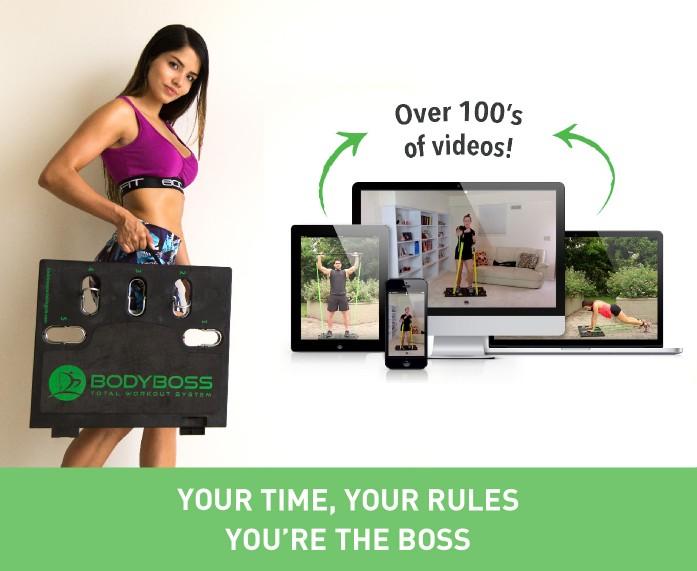 美國 Body Boss 2.0 可攜式健身房SC4