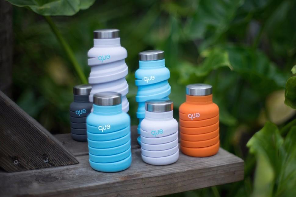美國 que Bottle可折疊 時尚旅行水瓶 - 6