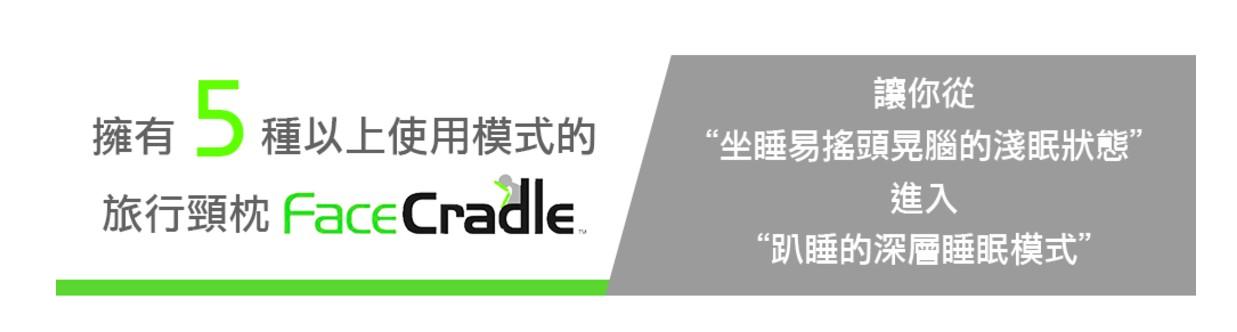 澳洲 FaceCradle 多功能旅行枕 -1