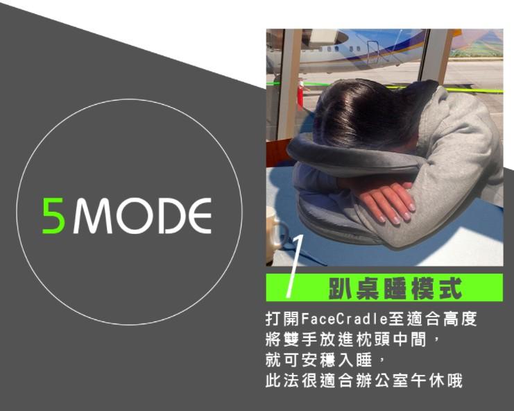 澳洲 FaceCradle 多功能旅行枕 -9