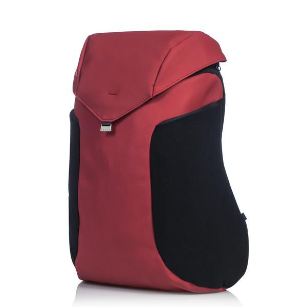 JOEY Backpack 型格防水多功能背包-紅色5