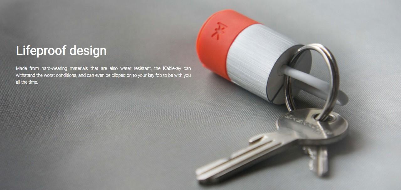 法國 PKparis K'ablekey 蘋果認證 三用 iPhone USB-09