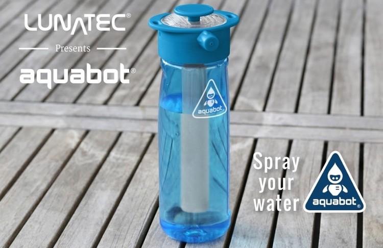 美國Lunatec Aquabot壓力噴射水樽 -3