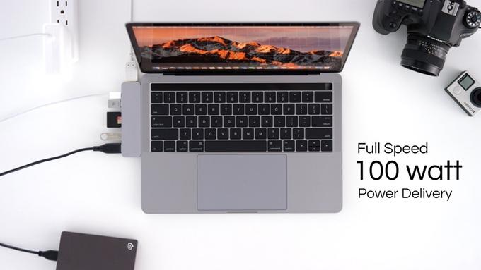 美國 HyperDrive USB-C 7合1 轉插器12123