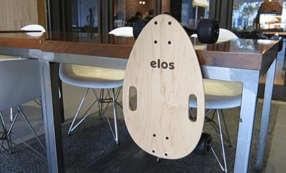 Elos Skateboard 經典都會手工滑板1213
