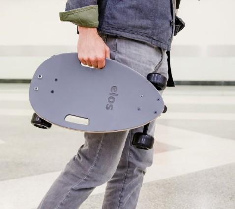 Elos Skateboard 經典都會手工滑板cover