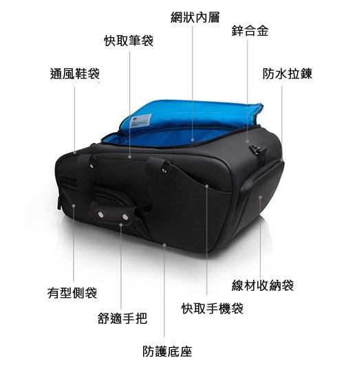 美國 KP Duffle 多功能旅行袋-5