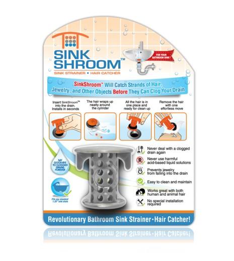 美國 Tubshroom 排水孔抓髮器 - 洗手槽 2