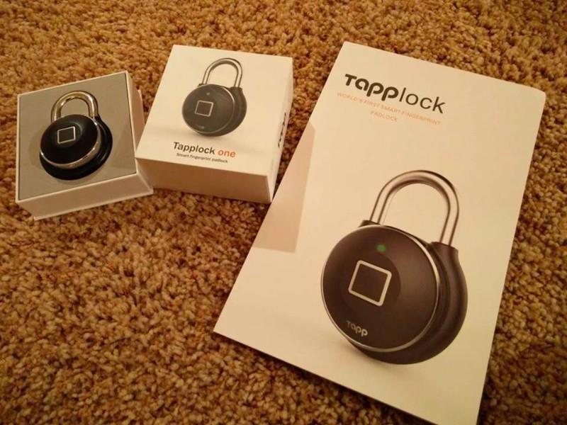 加拿大 Tapplock智能指紋掛鎖03