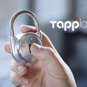 加拿大 Tapplock智能指紋掛鎖06