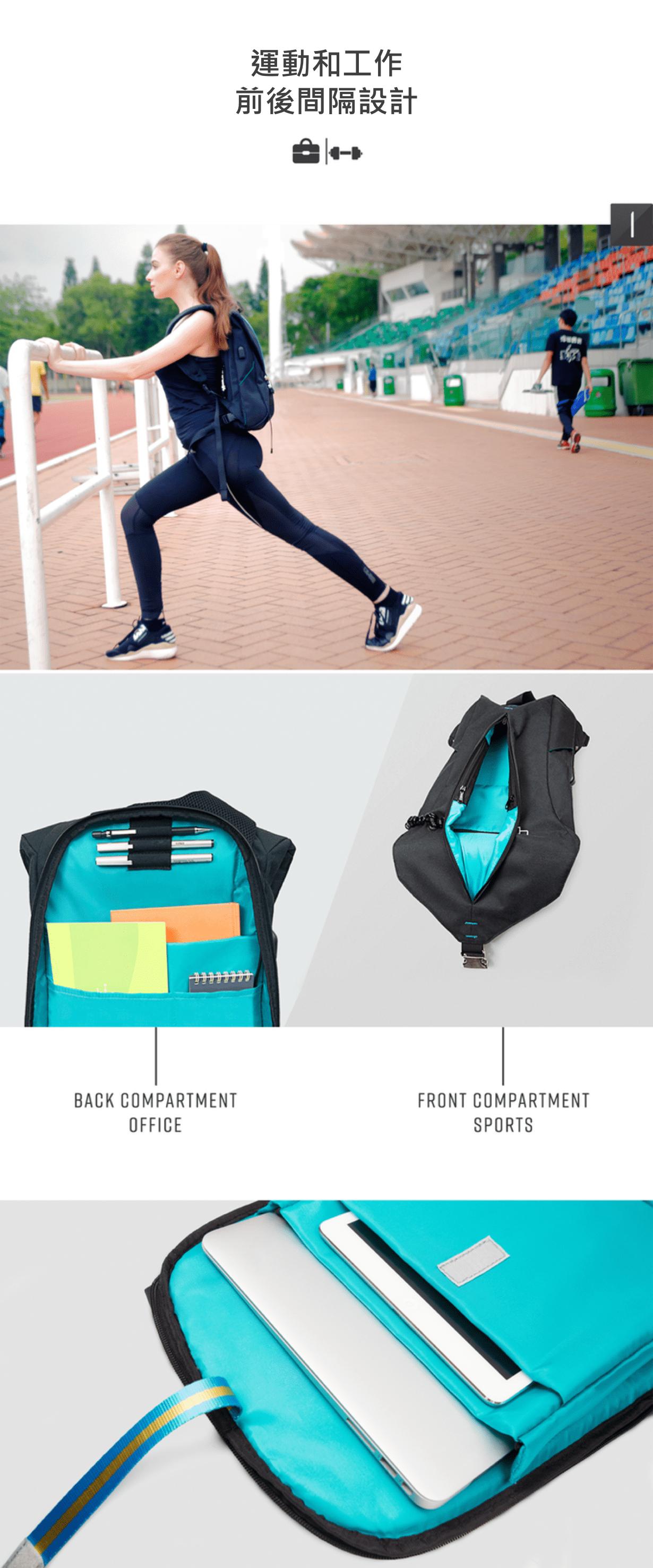 瑞典 Vandra 工作運動兩用背包-1-min