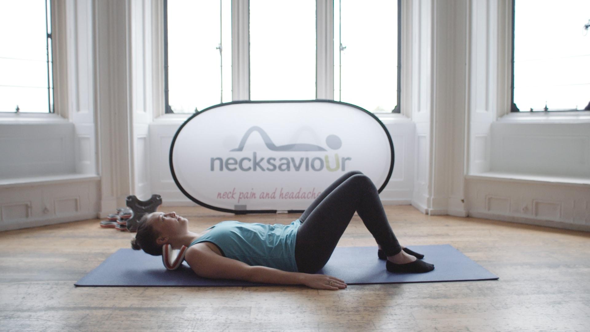 英國 necksaviour 頸部伸展器-19