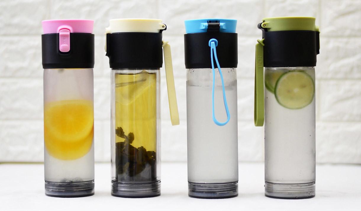 水瓶_PO:Selected隨身泡雙層水瓶(2月18日寄出)|SearchingC