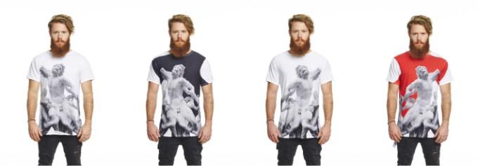 意大利 Uztzu 4 種穿法旅行 T-shirt01