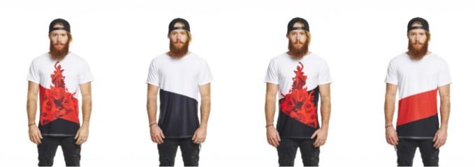 意大利 Uztzu 4 種穿法旅行 T-shirt02