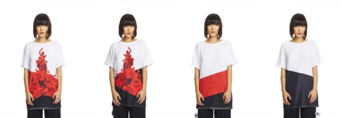 意大利 Uztzu 4 種穿法旅行 T-shirt08