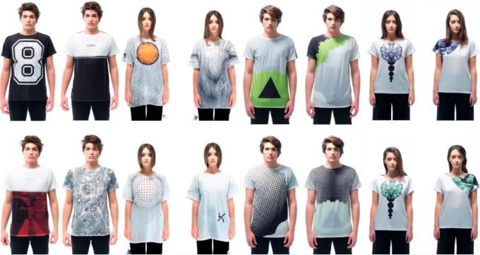意大利 Uztzu 4 種穿法旅行 T-shirt11