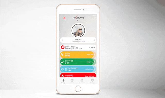 瑞士 ZeTime 指針智能手錶106