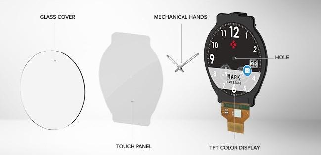 瑞士 ZeTime 指針智能手錶111