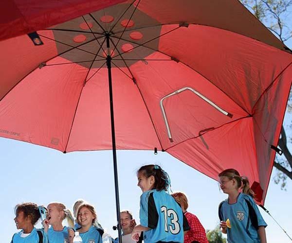 美國 SportBrella 史上最大遮陽傘20