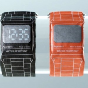 德國 Paprcuts 防水紙手錶31