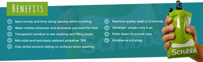 澳洲Scrubba便攜式洗衣袋6