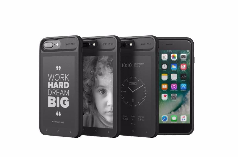 美國 Inkcase i7 Plus雙螢幕手機殼13