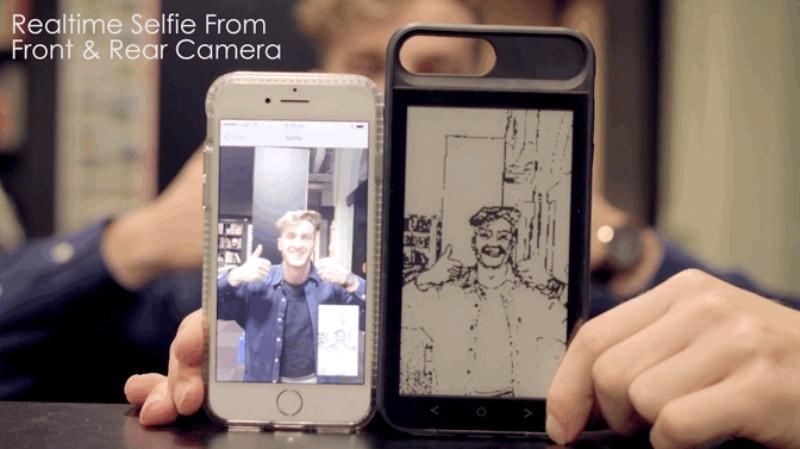 美國 Inkcase i7 Plus雙螢幕手機殼17