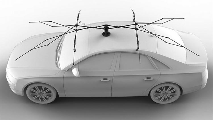 美國 Lanmodo 世界首款遙控汽車帳篷36