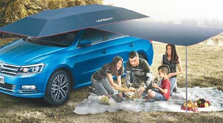 美國 Lanmodo 世界首款遙控汽車帳篷50