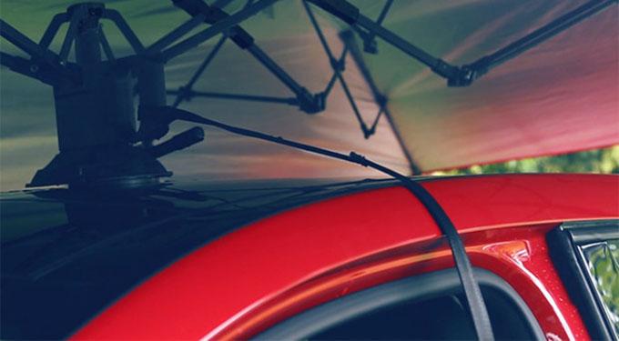 美國 Lanmodo 世界首款遙控汽車帳篷58