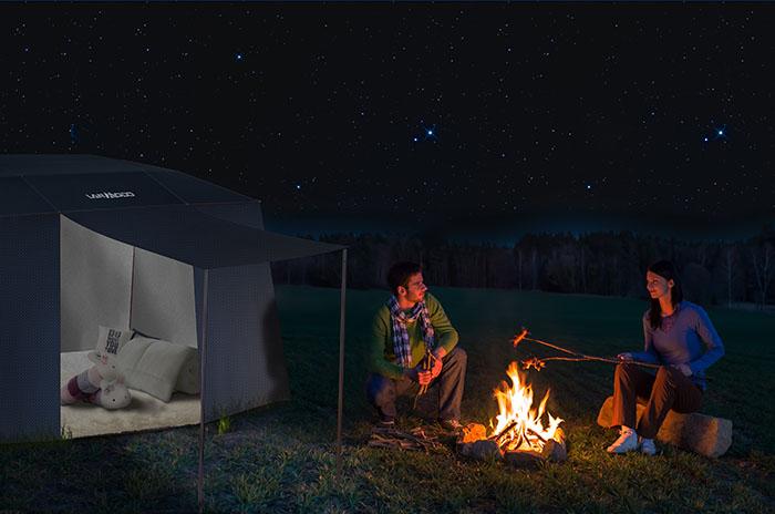 美國 Lanmodo 世界首款遙控汽車帳篷62