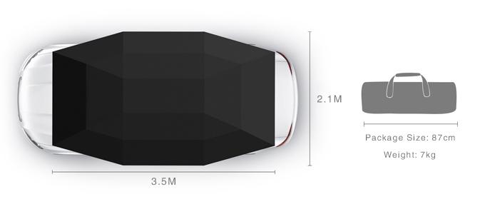 美國 Lanmodo 世界首款遙控汽車帳篷63