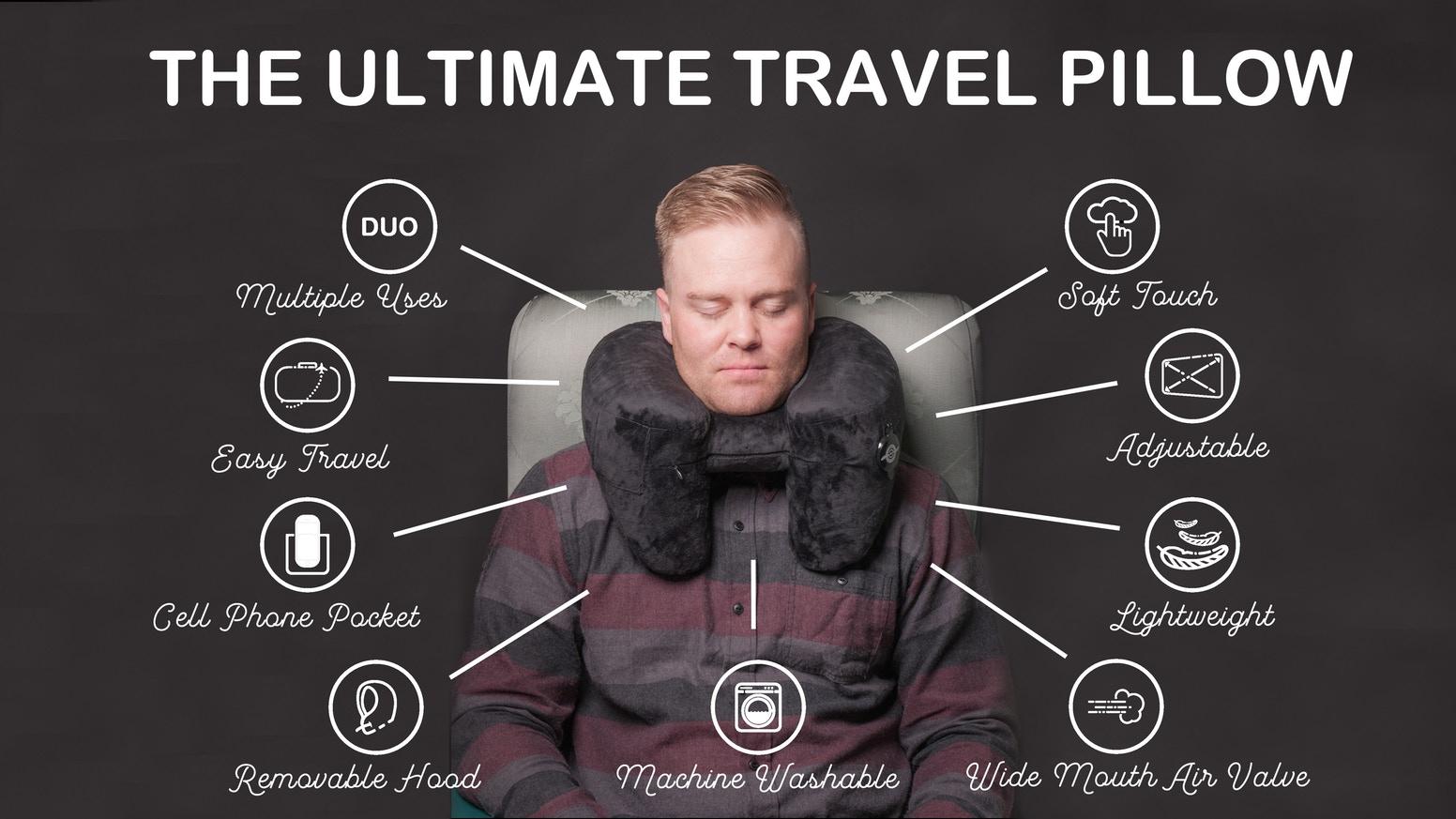 美國 Range Duo 旅遊必備頸枕 15