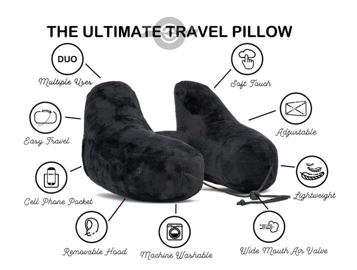 美國 Range Duo 旅遊必備頸枕 16