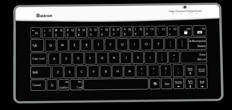 1Bastron 破璃鍵盤連觸控板6