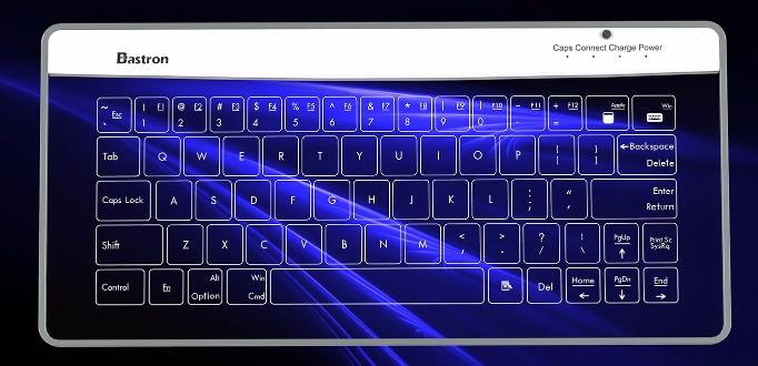 3Bastron 破璃鍵盤連觸控板8
