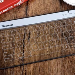 BASTRON 全球首款玻璃觸控鍵盤 cover