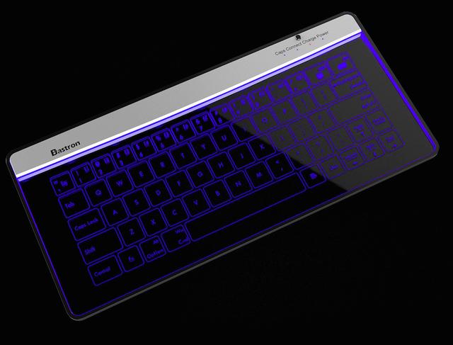 Bastron 破璃鍵盤連觸控板11