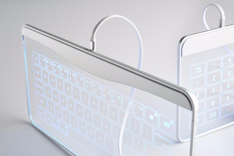 Bastron 破璃鍵盤連觸控板20