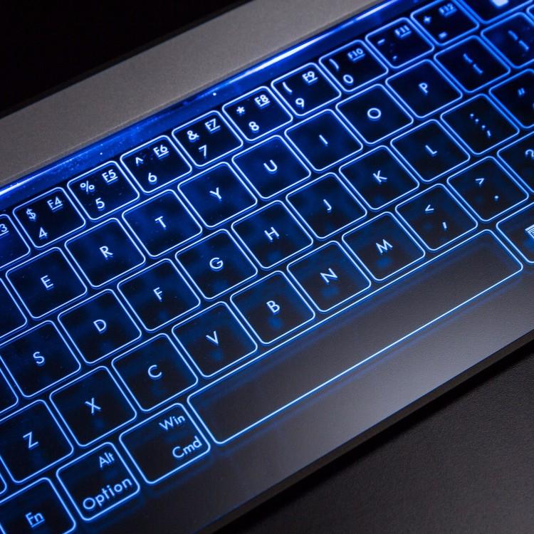 Bastron 破璃鍵盤連觸控板24
