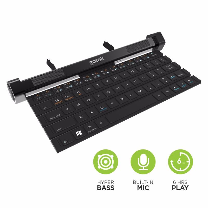 Gotype 全球首款捲曲音響鍵盤03