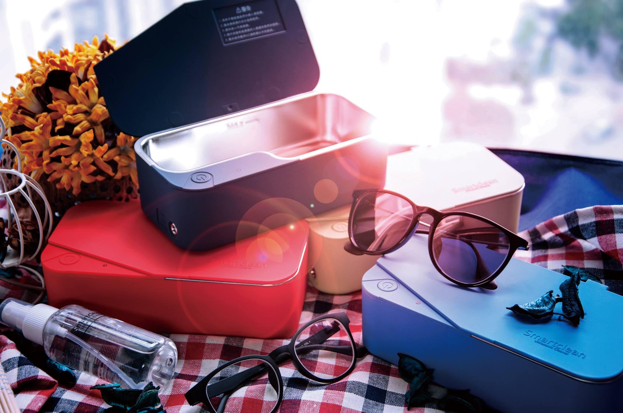 Smartclean超聲波眼鏡清洗機-5